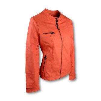 Rockige CECIL Jacke aus Fake Leder