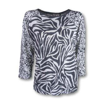 CECIL Shirt mit coolem Animal Print