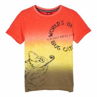 Kids Boys T-Shirt mit coolem Farbverlauf