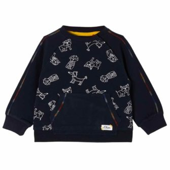 Baby Sweater mit Hunde Motiven