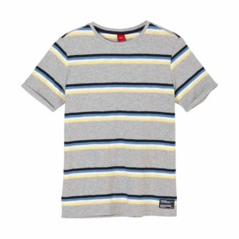 T-Shirt mit Multicolour-Stripes