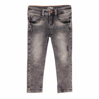 Kids Boys Jeans Brad in Acid Grey Waschung