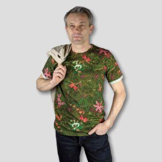 KEY LARGO T-Shirt JUNGLES Round