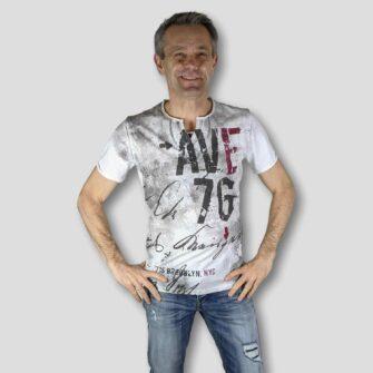 KEY LARGO T-Shirt OUTCOME BUTTON