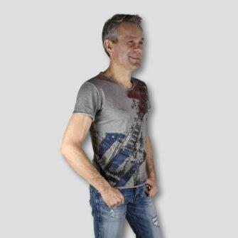 KEY LARGO T-Shirt STARS GUITAR
