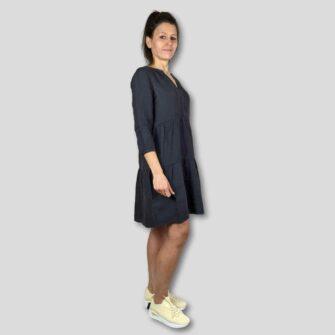 Leinen Kleid im Tunika Style von STREET ONE