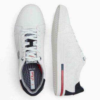 Sneaker mit Kontrastdetails und Soft Foam Sohle