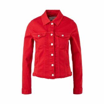 Jeansjacke im Cropped Style