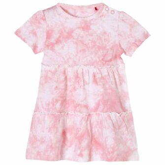 Baby Kleid aus weichem Baumwoll-Jersey mit Batik-Print