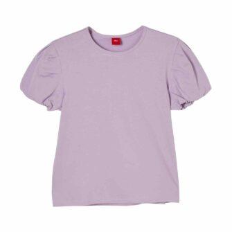 Girls T-Shirt mit Puffsleeves