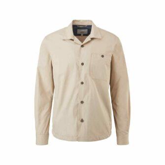 Overshirt in leichter Baumwolle