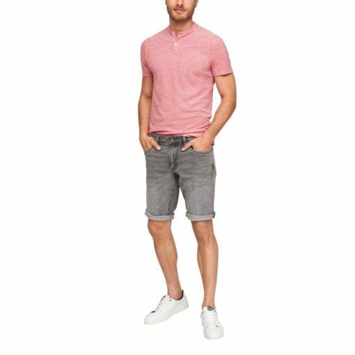 Leichte Jeans Bermuda im Regular Fit 1