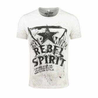 KEY LARGO T-Shirt Free Mind Round