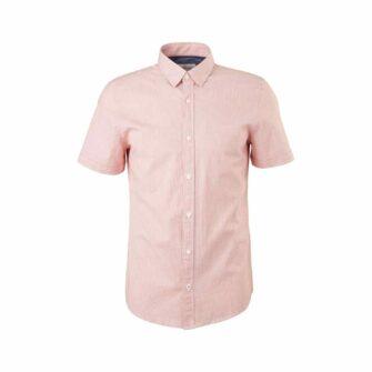 Slim Fit Hemd mit Halbarm