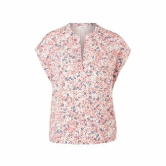 Feminines Blusenshirt mit floralem Print
