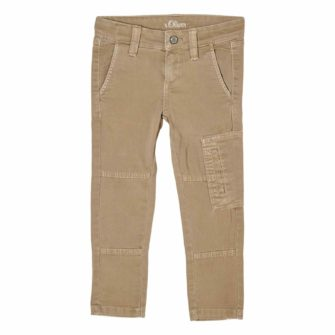 Slim Fit Kids Hose im Cargo Style
