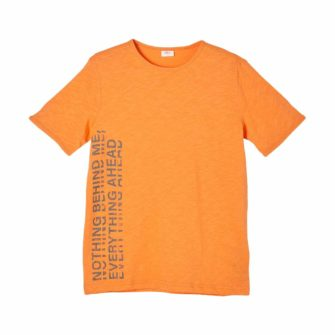 Jungen T-Shirt mit Flammgarnstruktur
