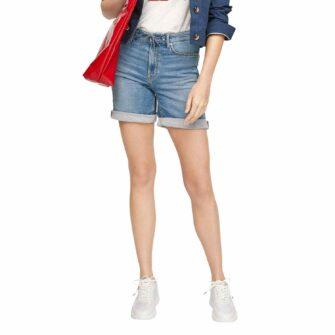 Boyfriend Jeans-Shorts im Slim Fit