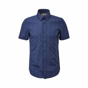 Modisches Kurzarmhemd mit stylischem Print