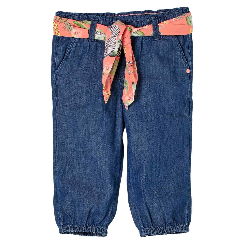 Girls Capri Jeans aus leichtem Denim