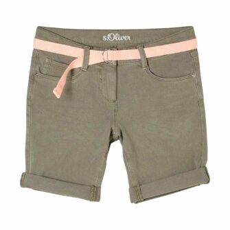 Girls Bermuda in farbigem Denim