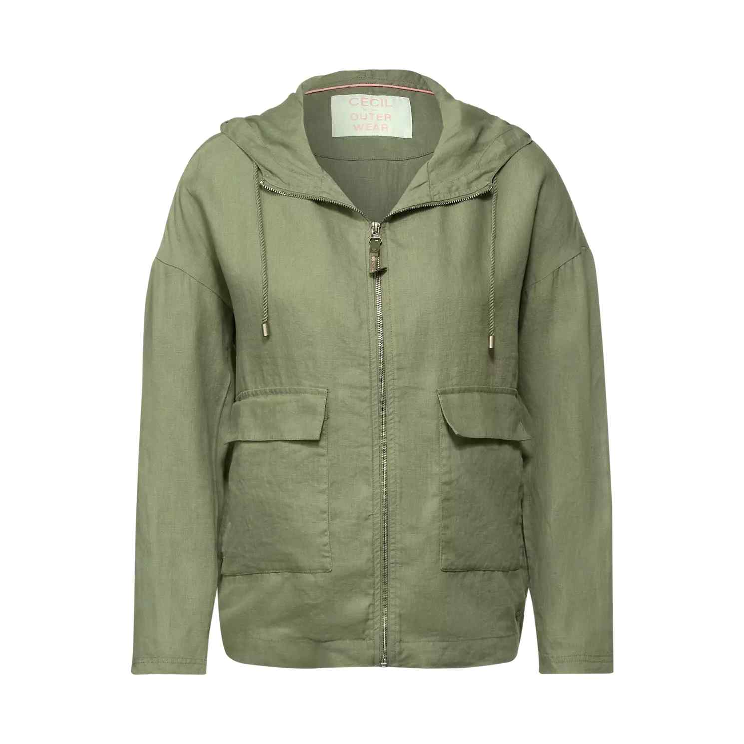 Leinen Indoor Jacke von CECIL