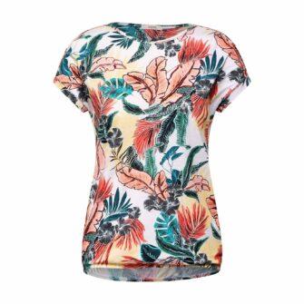 CECIL T-Shirt mit Palmen-Print