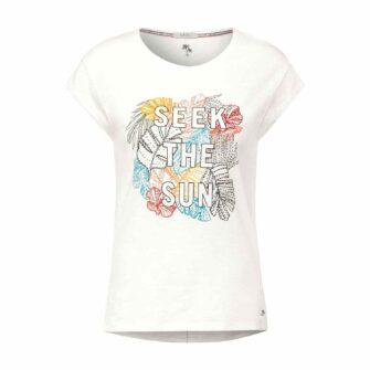 CECIL T-Shirt mit Front-Print