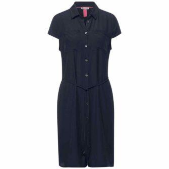 Kleid mit Hemdblusenkragen von STREET ONE