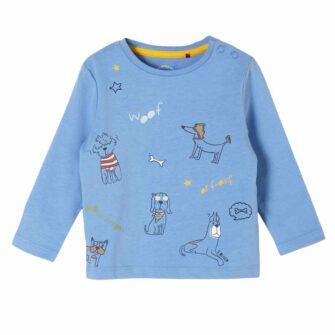 Baby Langarmshirt mit tierisch gutem Print