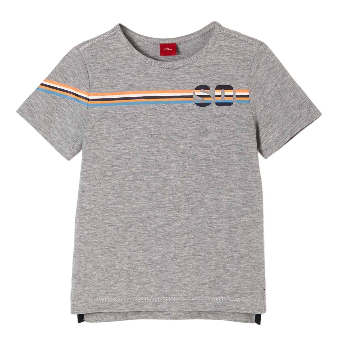 Boys T-Shirt in Unifarben