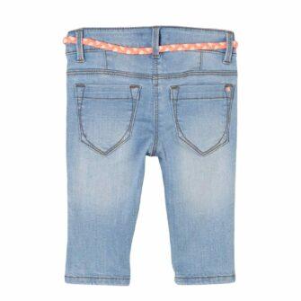Girls Capri Jeans in heller Sommerwaschung