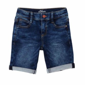 Jungen Jeans Bermuda im Regular Fit