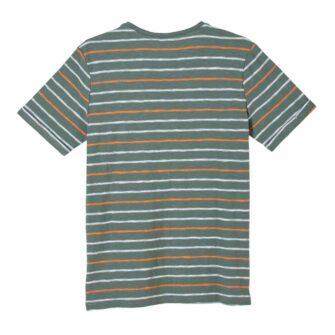 Flammgarn-Shirt mit Streifen