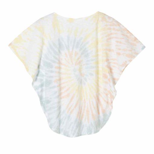 Batik-Shirt mit Fledermausarm