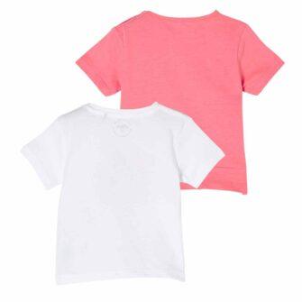 2er-Pack T-Shirts mit Frontprint