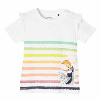 Baby Shirt mit Print und niedlichen Details