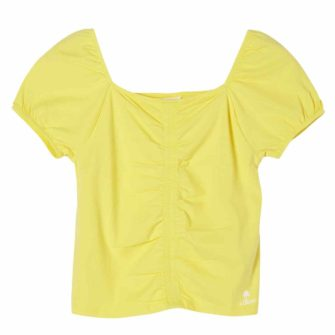 Girls T-Shirt mit Karreeausschnitt
