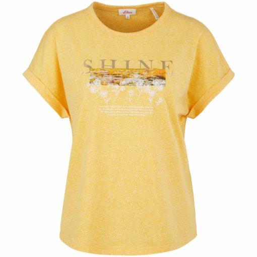 Sommer T-Shirt mit angesagtem Folienprint