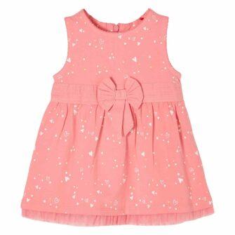 Baby Voile-Kleid mit Zierschleife