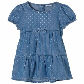Baby Jeanskleid aus leichtem Lyocell Denim