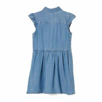 Niedliches Kleid aus leichtem Lyocell-Denim