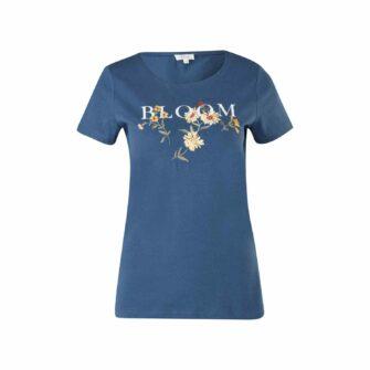 T-Shirt mit femininem Artwork