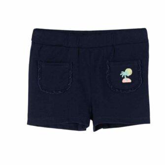 Kids Jersey-Shorts mit Stickerei