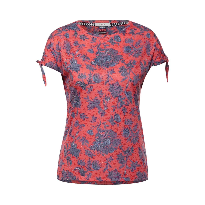 Leichtes T-Shirt mit Blumenmuster von CECIL