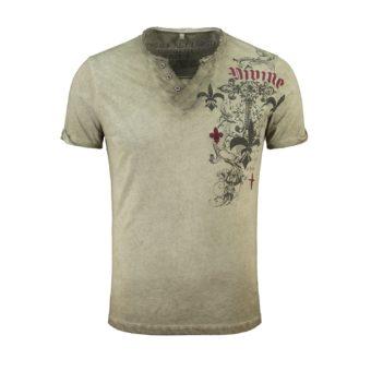 KEY LARGO T-Shirt Knight Button