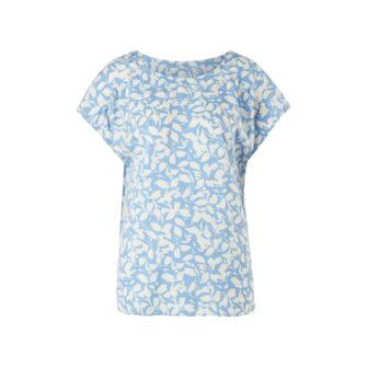 Shirtbluse mit stylischem Ausschnitt