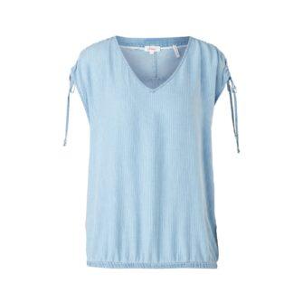Light Denim-Shirt mit Streifen