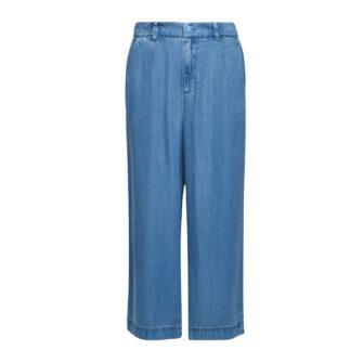 Leichte Jeans Culotte aus Lyocell