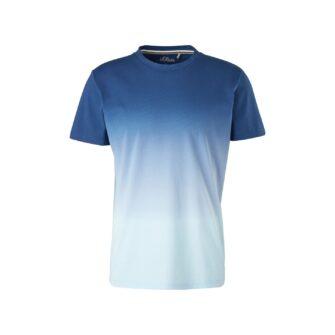 Herren T-Shirt mit Farbverlauf
